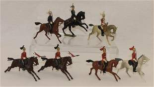 Britains Lot of Mounted Figures