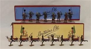Britains Togoland Warriors & Zulus