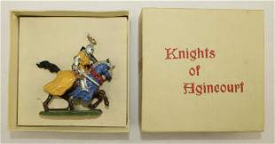 Britains #1660 Mounted Knight of Agincourt