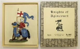 Britains #1662 Mounted Knight of Agincourt