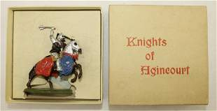 Britains #9492 Mounted Knight of Agincourt