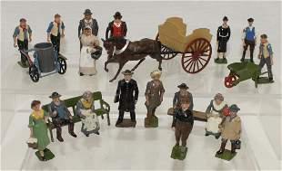 Britains Lot Farm Civilians