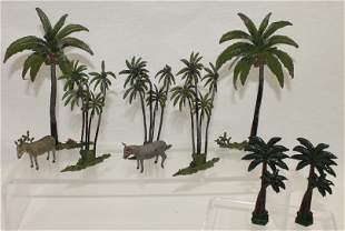 Britains Lot Palm Trees and Mules