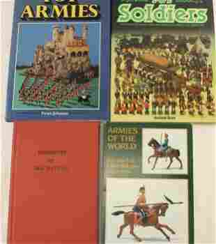 Lot of Toy Soldier Books