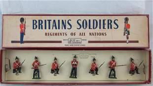 Britains Set #17 Somerset Light Infantry.
