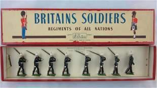 Britains Set #35 Postwar Royal Marines.