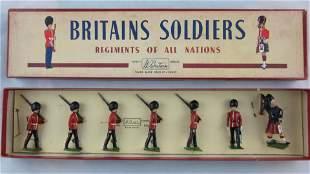 Britains Set #75 Postwar Scots Guards.