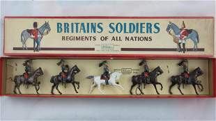 Britains Set #138 French Cuirassiers At Walk.