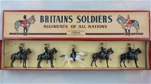 Britains Set #190 Belgian Chasseurs At Halt.