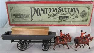 Britains Set #203 Review Order Pontoon Wagon.