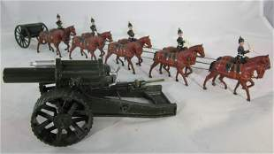 Britains Set #211 Ten Horse Field Artillery.