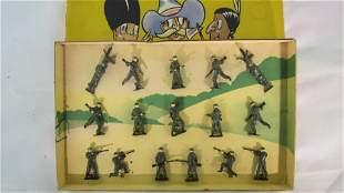 Britains Set #235A Infantry in Battledress.