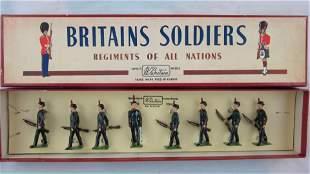 Britains Set #2072 Kings Royal Rifle Corp.