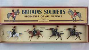 Britains Set #2076 Postwar 12th Royal Lancers.