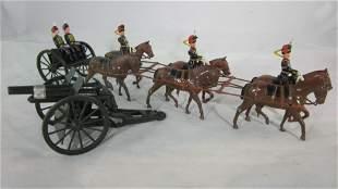 Britains Set #2077 Royal Horse Artillery.