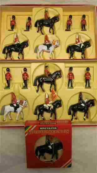 Britains Circa 1988 Queen And Household Cavalry.