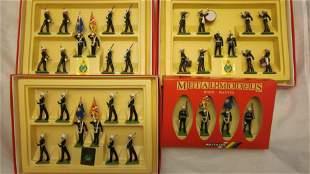 Britains Metal Models Royal Marines Medley.