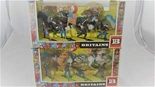 Britains Deetail Civil War Infantry And Cavalry.
