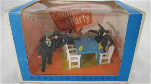 Britains Zoo Models Plastic Chimps Tea Party.