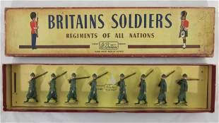 Britains Set #1435 Italian Infantry.