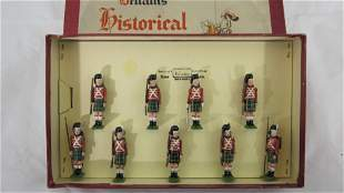 Britains Set #1518 Waterloo Highlanders 1815.