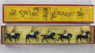 Britains Set #1 LifeGuards Household Cavalry.