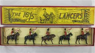 Britains Set #33 Post War 16th/5th Lancers.