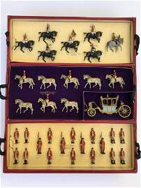 Britains Set #2081 Queen Elizabeth Coronation.