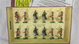 Britains Set #5185 Seaforth Highlanders.
