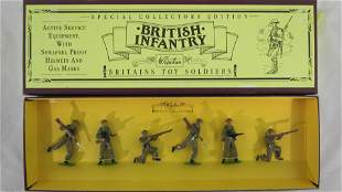Britains Set #8803 British Infantry In Khaki.