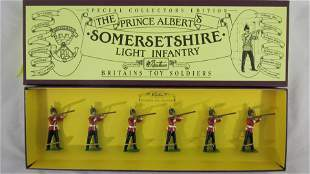 Britains Set #8804 Somerset Light Infantry.