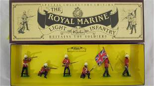 Britains Set #8808 Royal Marine Light Infantry.