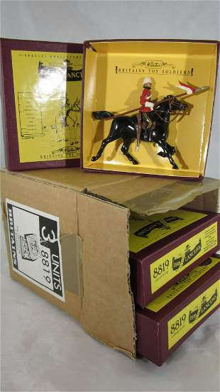 Britains Bulk Set #8819 16th Queens Lancers.