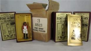 Britains Bulk Set #8823 Fort Henry Pioneer.
