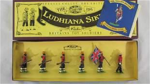 Britains Set #8832 The 15th Ludhiana Sikhs.