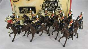 Britains Set #40191 9th Lancers Mounted Band.