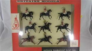 Britains Set #9305 LifeGuards and 4th Hussars.