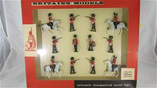 Britains Set #9310 Greys And Grenadier Guards.