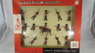 Britains Set #9321 Grenadier Guards Firing.