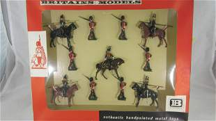 Britains Set #9345 Royal Fusiliers & 9th Lancers