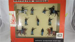 Britains Set #9387 Union Army Display.