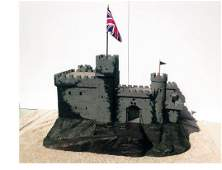 Britains Factory Castle For Toy Shop Display.
