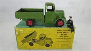 Britains Set #59F, 4 Wheel Tipper Lorry.