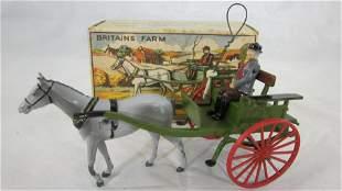 Britains Set #20F Farmer's Gig With Farmer.