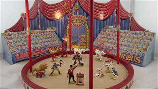Britains Set #8665 Circus Display Circa 1997.