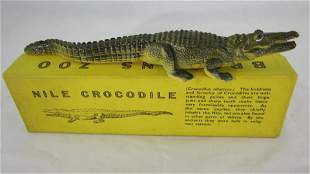Britains #917 Rare Adult Nile Crocodile.