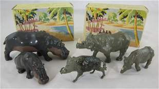 Britains Boxed Zoo Picture Pack Sets.