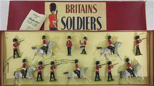 Britains Set #41 Scots Greys And Guards Display.