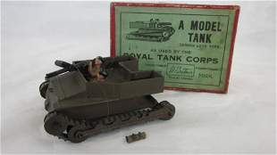 Britains Set #1203 Carden Lloyd Tank With Crew.