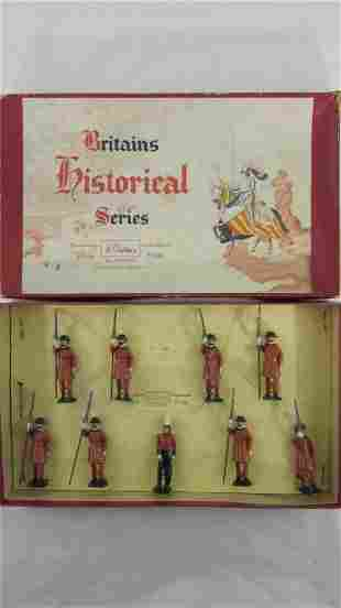 Britains Set #1257 Yeomen Of The Guard.